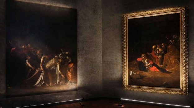 Al MuMe di Messina, nuova illuminazione per le due tele di Caravaggio