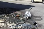 """Atto vandalico alla """"Messina Servizi"""": quindici cassonetti bruciati"""