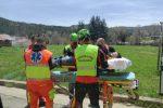 Cade da cavallo e si ferisce, recuperato dal Soccorso alpino