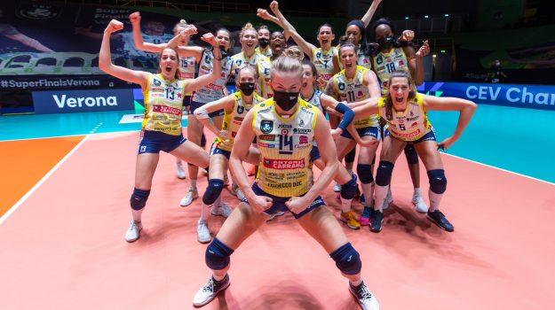 champions league, volley femminile, Valerio Lionetti, Sicilia, Sport
