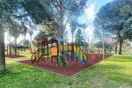 Cosenza, nuovi giochi e arredi ecosostenibili nel parco Nicholas Green