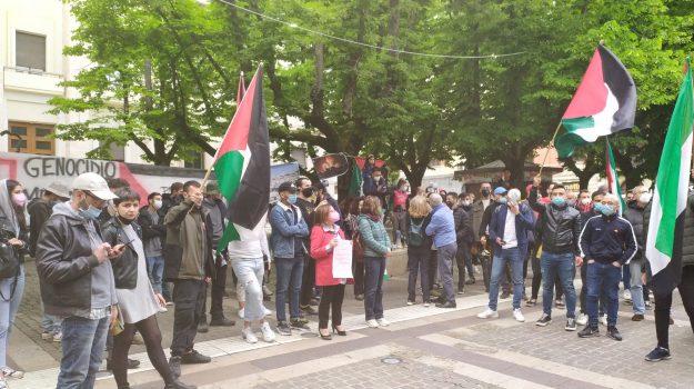 mobilitazione cosenza, popolo palestinese, Cosenza, Cronaca