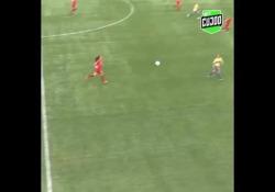 Danimarca, segna con il cucchiaio Un'azione da manuale e un gol da campionessa - CorriereTV