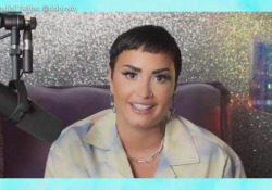 """Demi Lovato: «Sono di genere non binario. Rivolgetevi a me col pronome """"loro""""» La cantante ha comunicato il suo messaggio con un video sui suoi canali social - Ansa"""