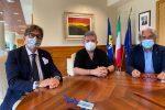 Pietro Falbo, Nino Spirlì e Rodolfo Rotundo