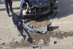 Corigliano, violentissimo scontro frontale tra due auto: gravissimo un ragazzo di 23 anni