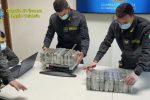 Quattrocento chili di cocaina individuati a Gioia Tauro, 7 arrestati e 18 fermati in Kosovo
