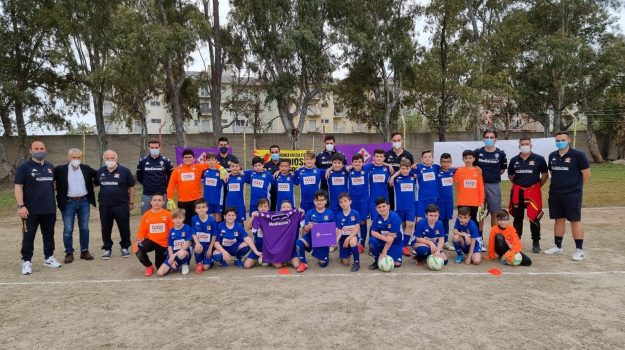 fiorentina calcio, goioisa ionica, Scuola Calcio Fcd Marina di Gioiosa, Rocco Commisso, Tommaso Mazzone, Reggio, Sport