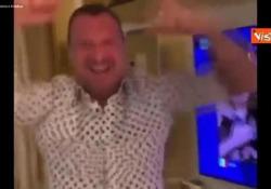 I Maneskin vincono l'Eurovision, l'esultanza di Amadeus Il video pubblicato su Instagram - Agenzia Vista/Alexander Jakhnagiev