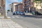 Rossano, scontro violento tra due auto in viale della Repubblica: feriti i conducenti