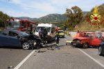 Rocambolesco incidente sulla SS 106 a Montauro. Tre i feriti in ospedale