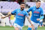 Il Napoli sempre più vicino alla Champions, Sassuolo avanti tutta
