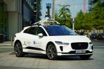 Jaguar I-Pace e Google misurano la qualità dell'aria a Dublino
