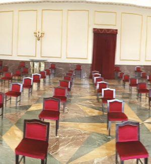 La sala Quintieri del teatro Rendano di Cosenza