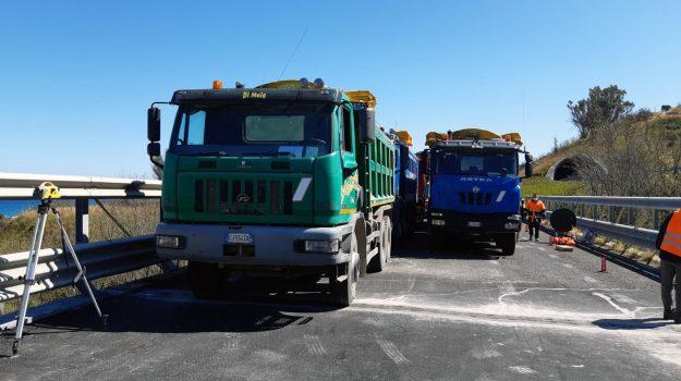 autostrade, lavori, messina, Messina, Cronaca