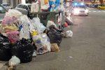 Messina, viale Europa trasformato in discarica: 50 multe