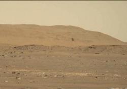 """Nasa, il primo audio del """"ronzio"""" di Ingenuity in volo su Marte Pubblicato l'audio del quarto volo del 30 aprile - Ansa"""