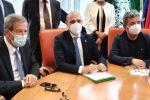 Ponte Stretto, Morelli incontra i presidenti Spirlì e Musumeci - VIDEO