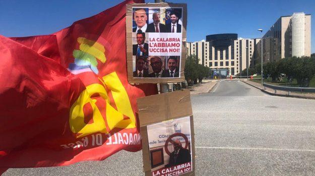 cittadella regionale, precari calabria, protesta, Calabria, Cronaca