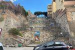 La scalinata di via Giudecca a Reggio Calabria