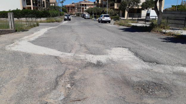buche asfalto, rossano, Cosenza, Cronaca