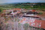 L'ex fabbrica di laterizi a San Calogero dove nel 2018 venne ucciso il sindacalista maliano Soumaila Sacko