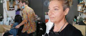La parrucchiera Grazia Bonanno