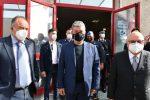 """L'inaugurazione dell'aula bunker di Lamezia, Spirlì: """"E' la casa della giustizia"""""""