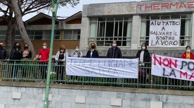 Terme Luigiane vertenza, Cosenza, Cronaca