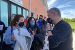 Coronavirus, Spirlì ha visitato l'hub vaccinale di Corigliano-Rossano