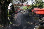 Cessaniti, s'incendia un trattore. Provvidenziale intervento dei vigili del fuoco