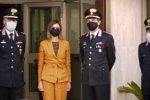 Sicurezza a Vibo, visita del prefetto al comando provinciale dei Carabinieri