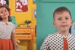 """Anita Bartolomei, 8 anni, ha cantato la canzone """"Custodi del mondo"""" vincitrice della 63esima edizione dello Zecchino d'oro"""