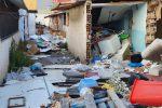 Messina: baracche occupate... dalla spazzatura