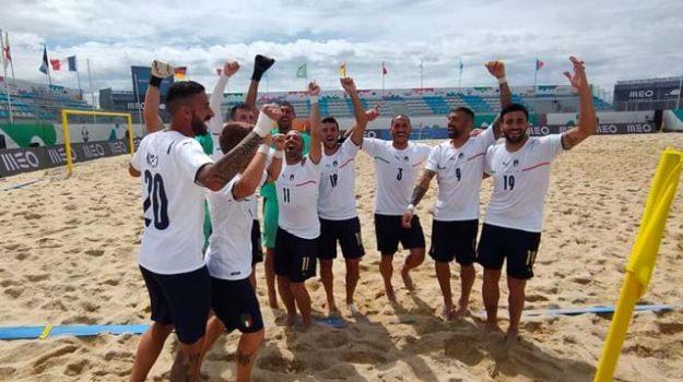 beach soccer, europei, italia, Francesco Corosiniti, Sicilia, Sport