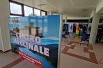 Vaccini, inaugurato hub nell'aeroporto di Crotone