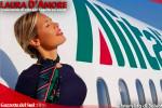 """""""Non solo bella..."""" vola alto Laura D'Amore: è di Catania l'hostess più seguita al mondo INTERVISTA"""