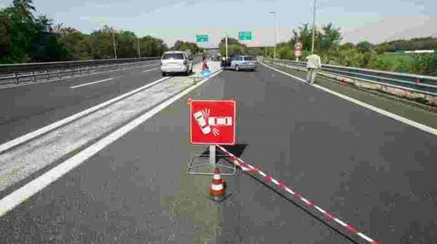autostrada incidente, cassino, san vittore, Sicilia, Cronaca