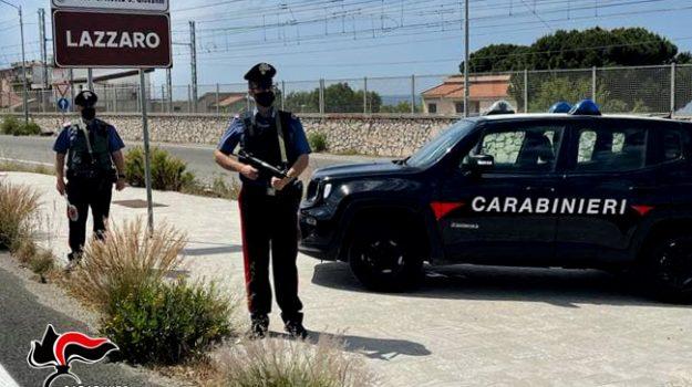 carabinieri, lazzaro, Reggio, Calabria, Cronaca