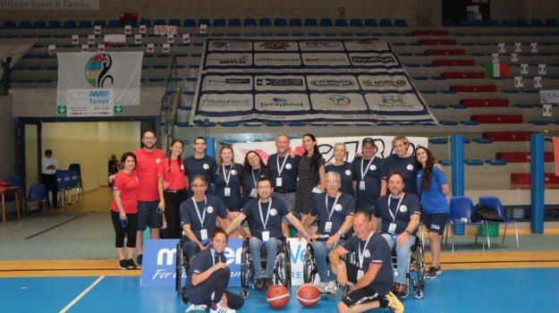 basket carrozzina, reggio calabria, Amelia Eva Cugliandro, Antonio Cugliandro, Pia Basile, Reggio, Sport