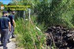 Ricadi, sorpresi a sversare rifiuti di materiale edile in un terreno - VIDEO