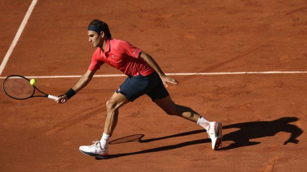 ottavi di finale, parigi, tennis roland garros, Roger Federer, Sicilia, Sport