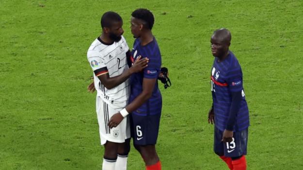 euro 2020, Francia-Germania, morso Rudiger, Antonio Rudiger, Paul Pogba, Sicilia, Euro 2020