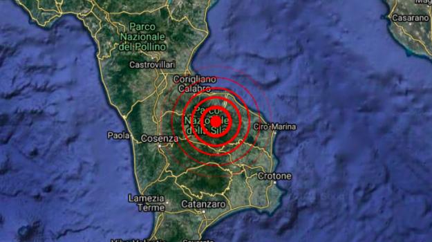 longobucco, terremoto, Cosenza, Cronaca
