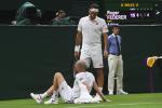 Federer si preoccupa per le condizioni di Mannarino