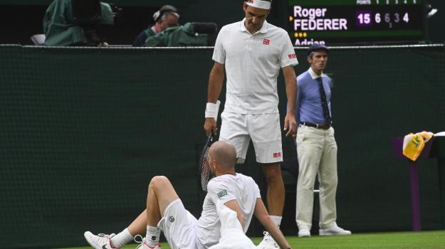 wimbledon, Adrian Mannarino, Roger Federer, Sicilia, Sport