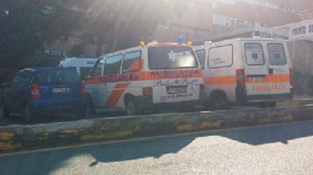 ambulanze, Gom, reggio calabria, Reggio, Cronaca