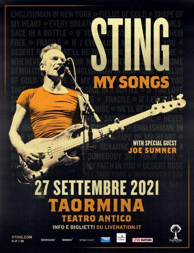 Sting riparte da Taormina: il 27 settembre al Teatro Antico l'unica tappa  italiana - Gazzetta del Sud