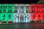 Festa della Repubblica, da ieri sera Palazzo Orleans è un... tricolore