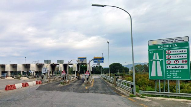 autostrada, rometta, Messina, Cronaca